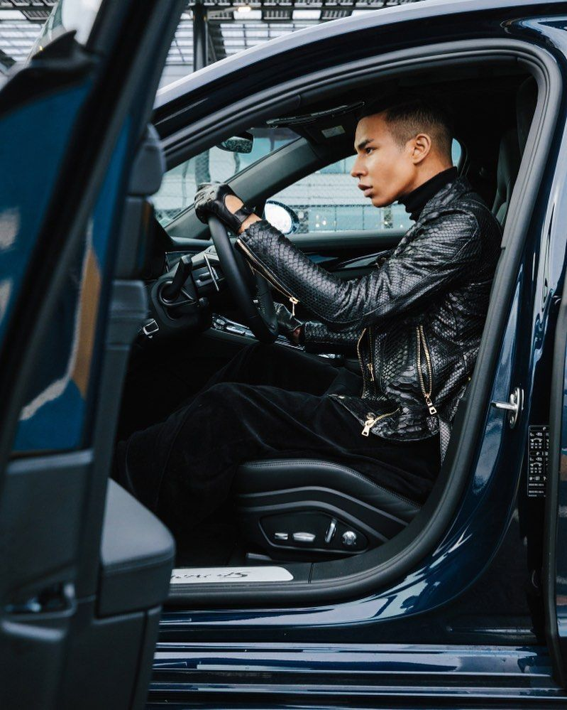 Porsche and Balmain Creative Director Olivier Rousteing Collaborate In Stunning New Video