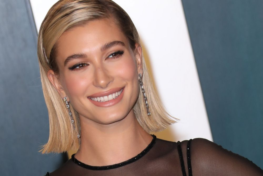 Hailey Bieber is among the latest mainstream celebrities to launch a YouTube channel (photo: Getty Images)