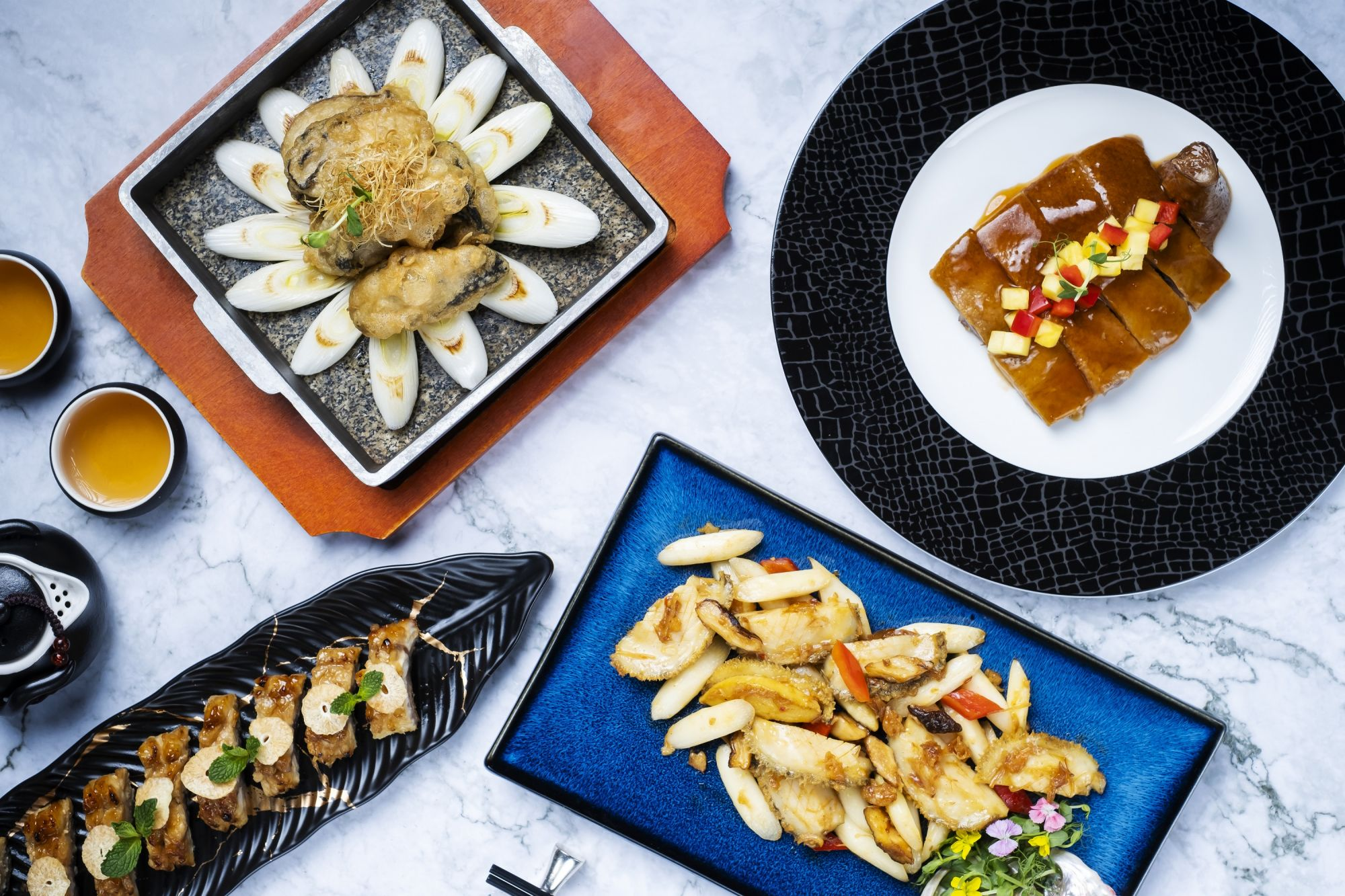 Chef Chi Ki Wong's New Spring Specials At Above & Beyond