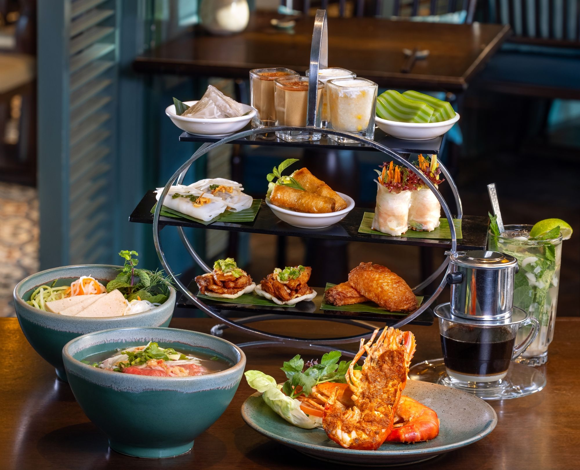 Dive Into Indochine Cuisine With An Nam Causeway Bay's New Afternoon Tea Set