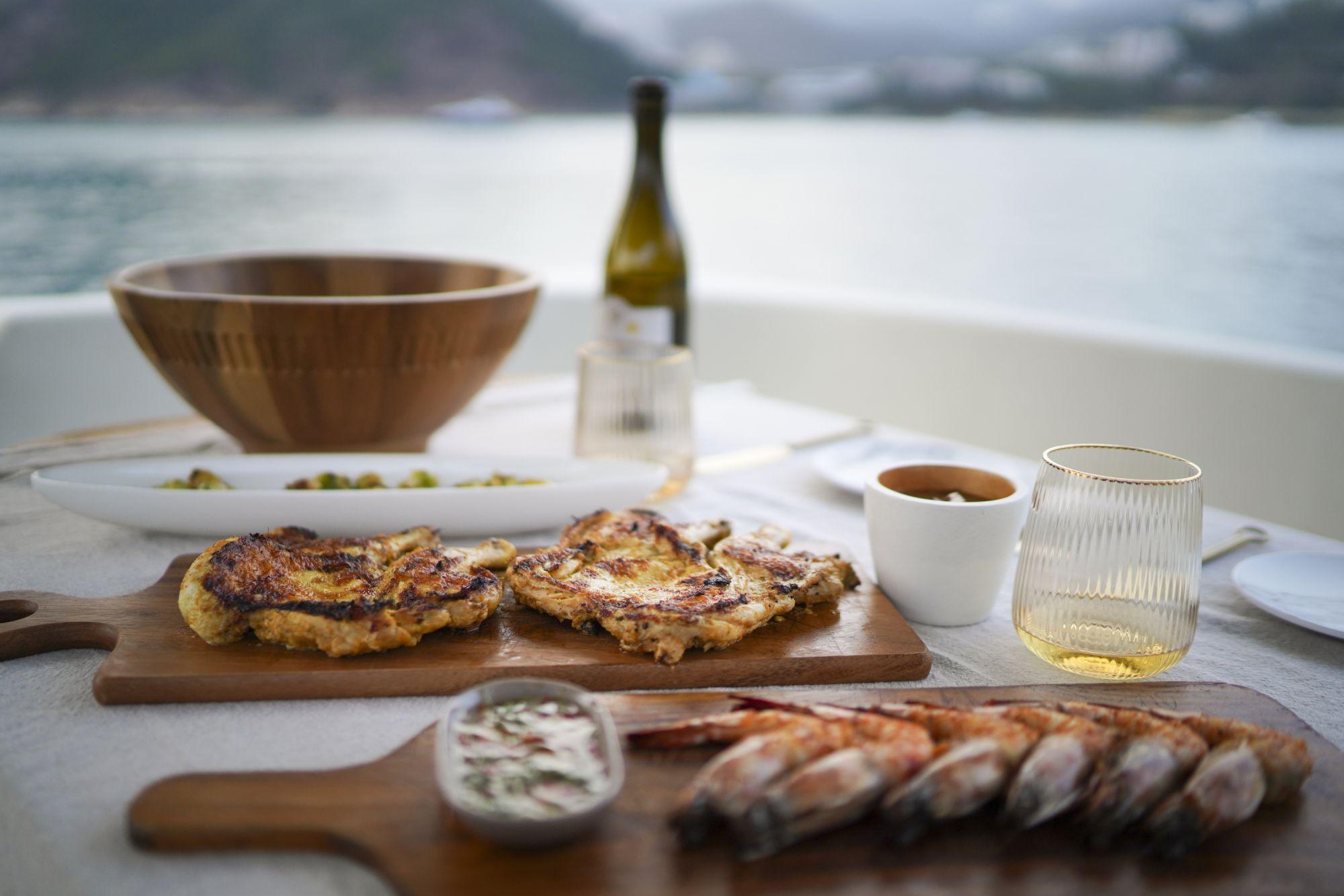 "Ta Pantry Launches ""Bon Voyage"" Boat Catering Menu"