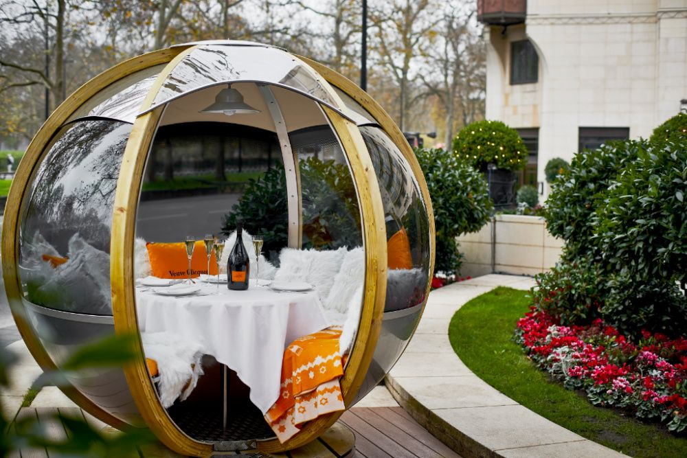 The Dorchester will open its first-ever rooftop restaurant and bar this spring (photo: Courtesy The Dorchester)