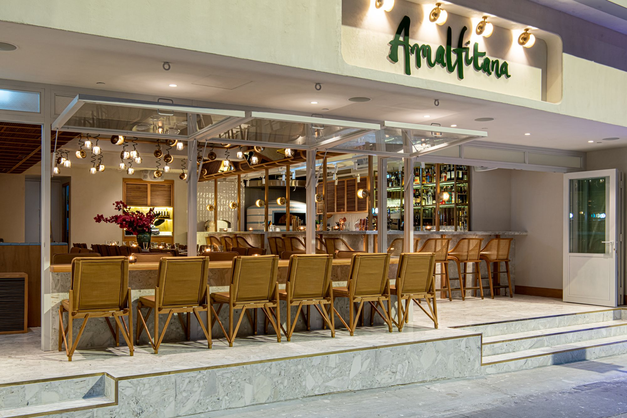 Amalfitana's New Central Location Brings Beachside Dining To The City