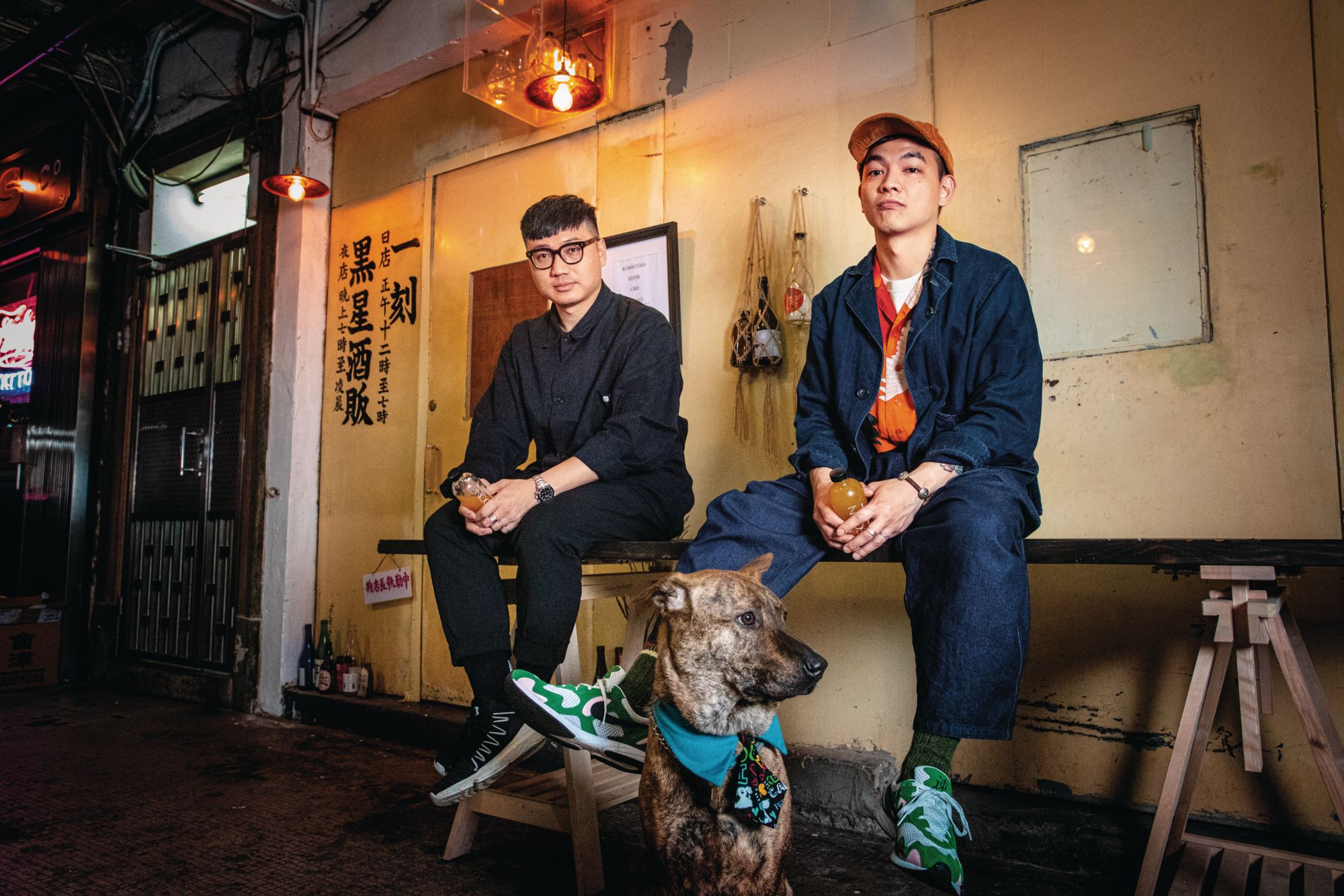 Meet The Duo Behind Black Star Liquor Co., A New CBD Drinks Shop In Causeway Bay