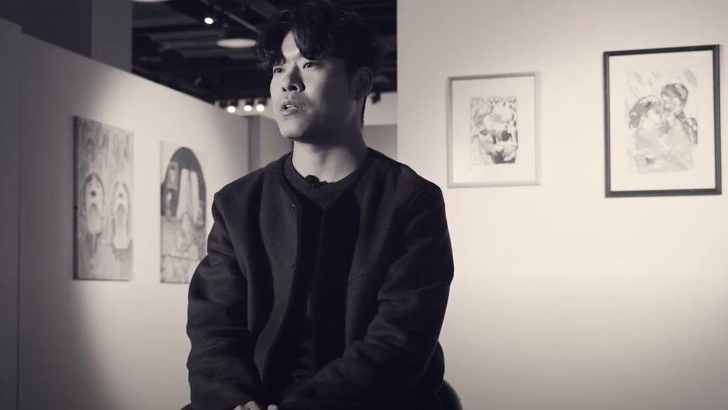 "South Korean Artist Qwaya On His First Overseas Exhibition In Hong Kong, ""Zero Base x Hong Kong"""