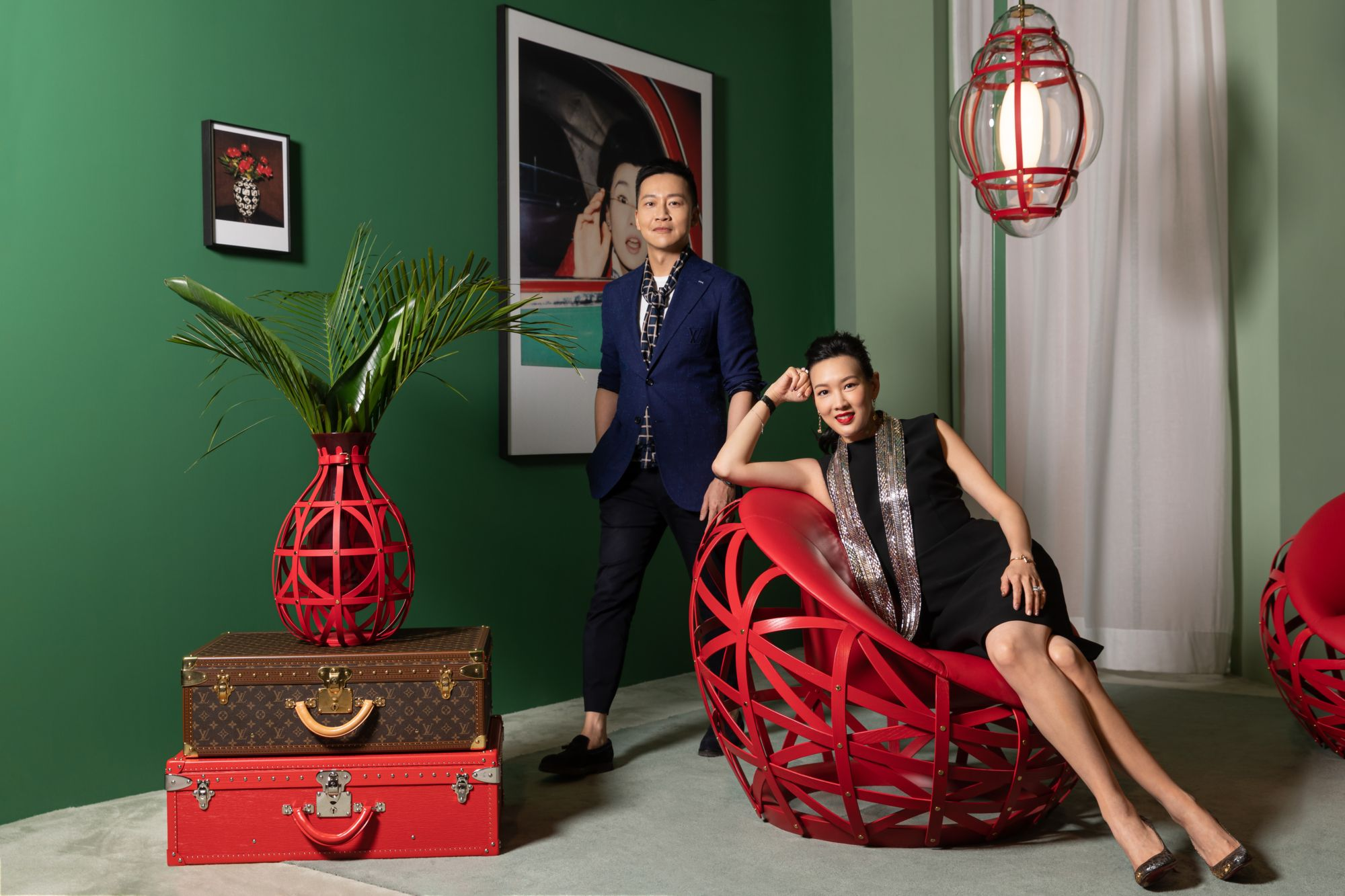 Joyce Tam And Nelson Chow Share Their Favourite Pieces From Louis Vuitton's Objets Nomades Collection