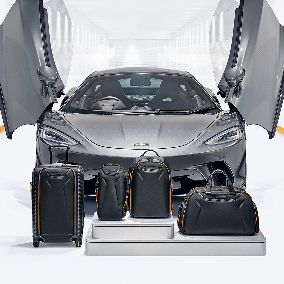 Tumi x McLaren Unveil A Collection Of Luxury Travel And Everyday Essentials