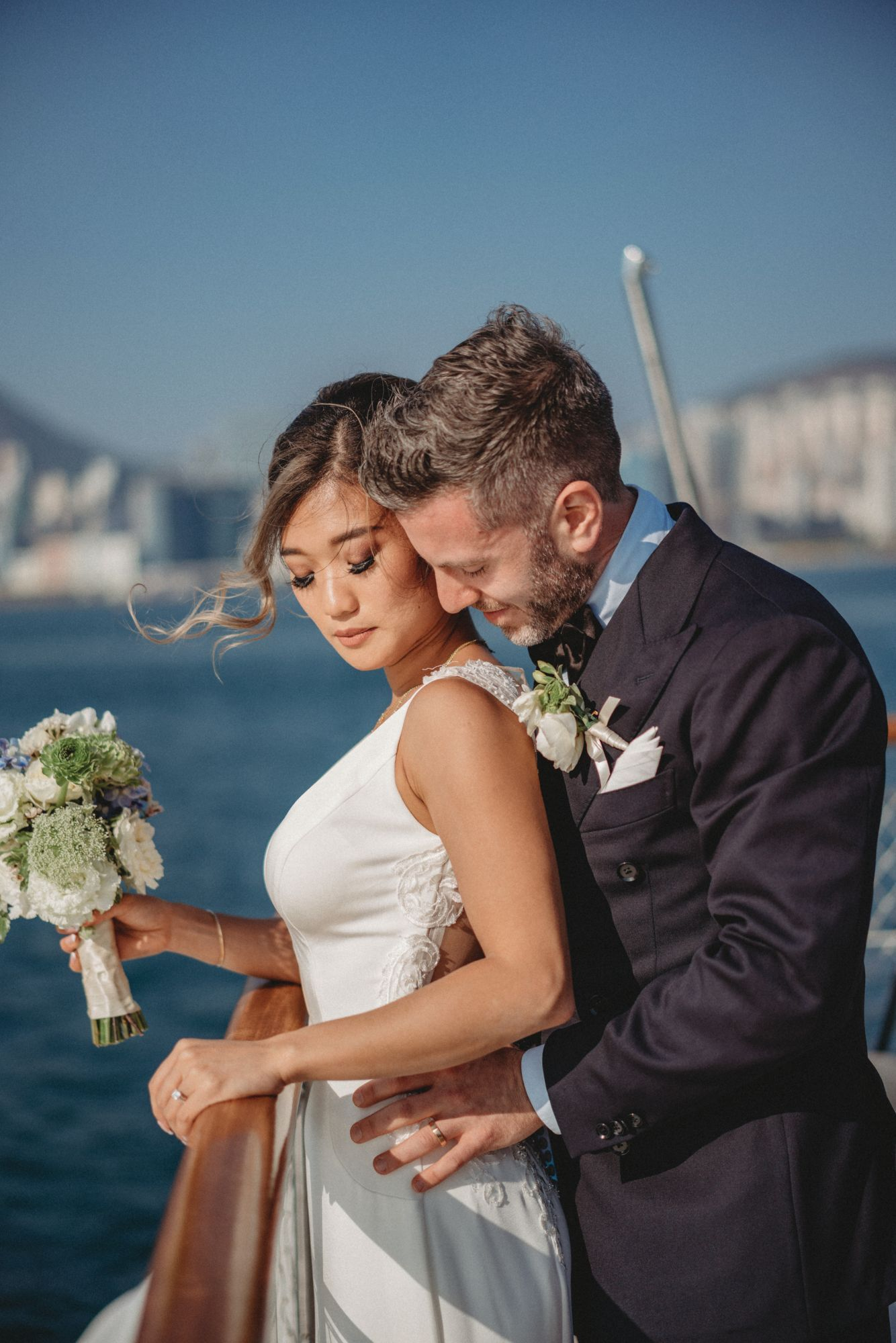 The Love Boat: Inside Elliot Faber And Tiffany Ung's Wedding On A Yacht