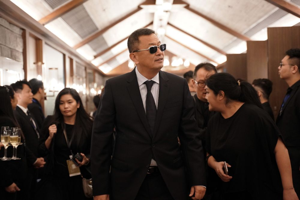 Wong Kar Wai at Festival de Cannes Film Week in Asia at on November 12, 2019 in Hong Kong  (Photo by Anthony Kwan/Getty Images for Festival de Cannes Film Week in Asia)