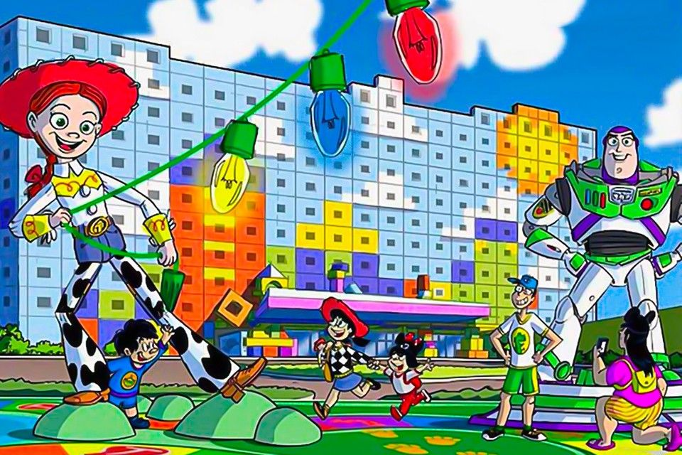 """A New """"Toy Story""""-Themed Hotel Will Open At Tokyo Disney Resort This Year"""