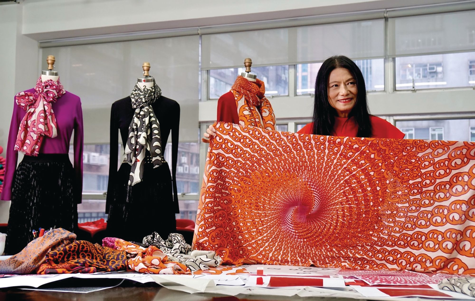 Vivienne Tam Launches A New Initiative To Honour Her Late Partner, Designer Scott Crolla