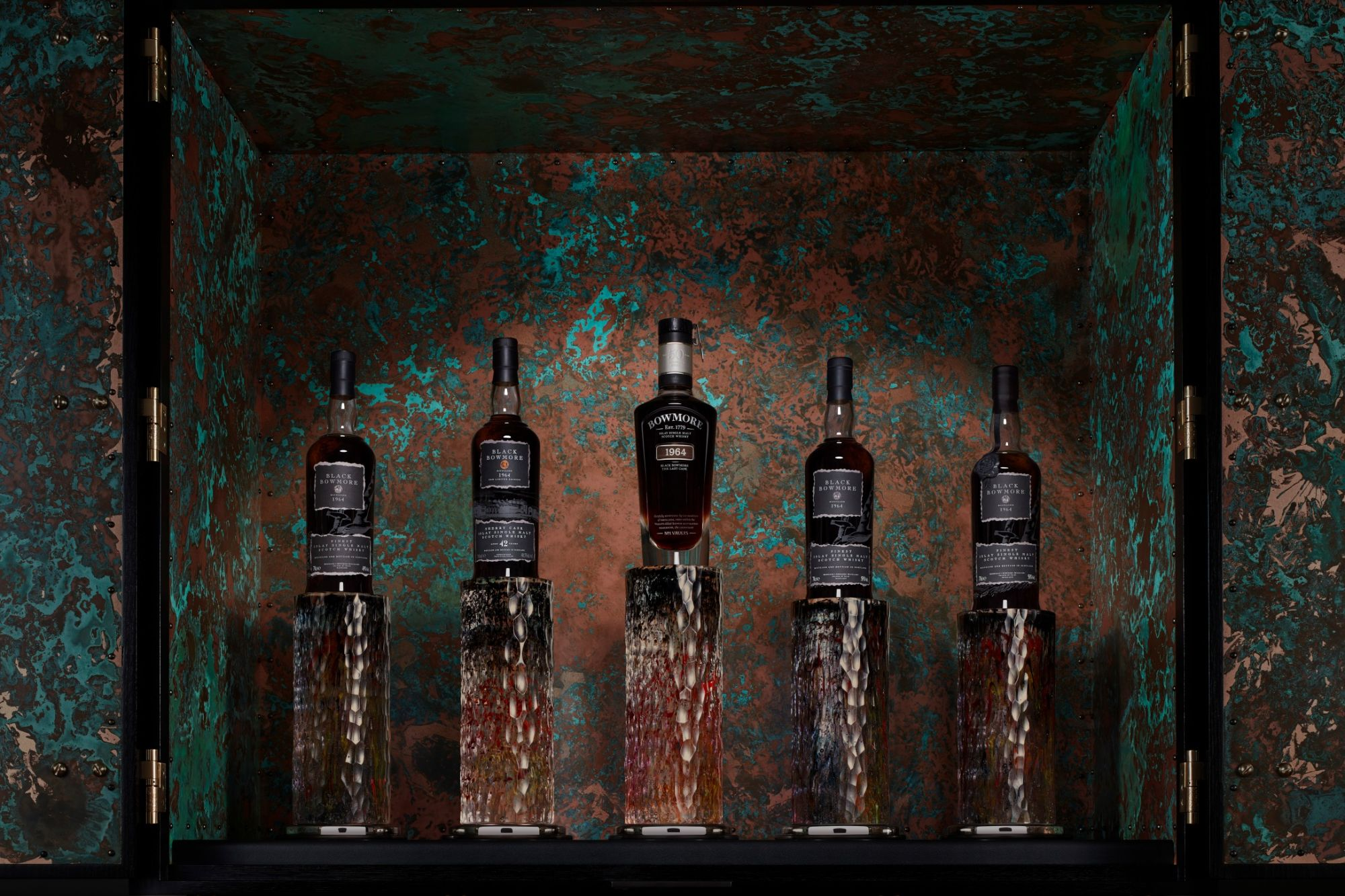 A Rare Black Bowmore Whisky Collection Will Be Offered At Sotheby's April 2021 Auction