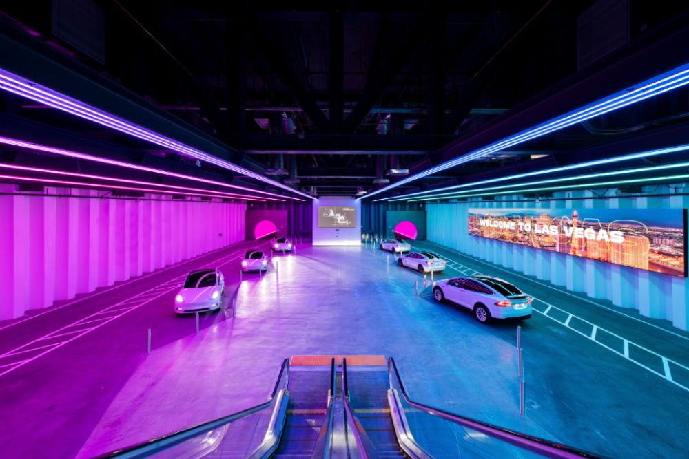 Elon Musk's The Boring Company unveils new Las Vegas Convention Center tunnel (photo: Courtesy)