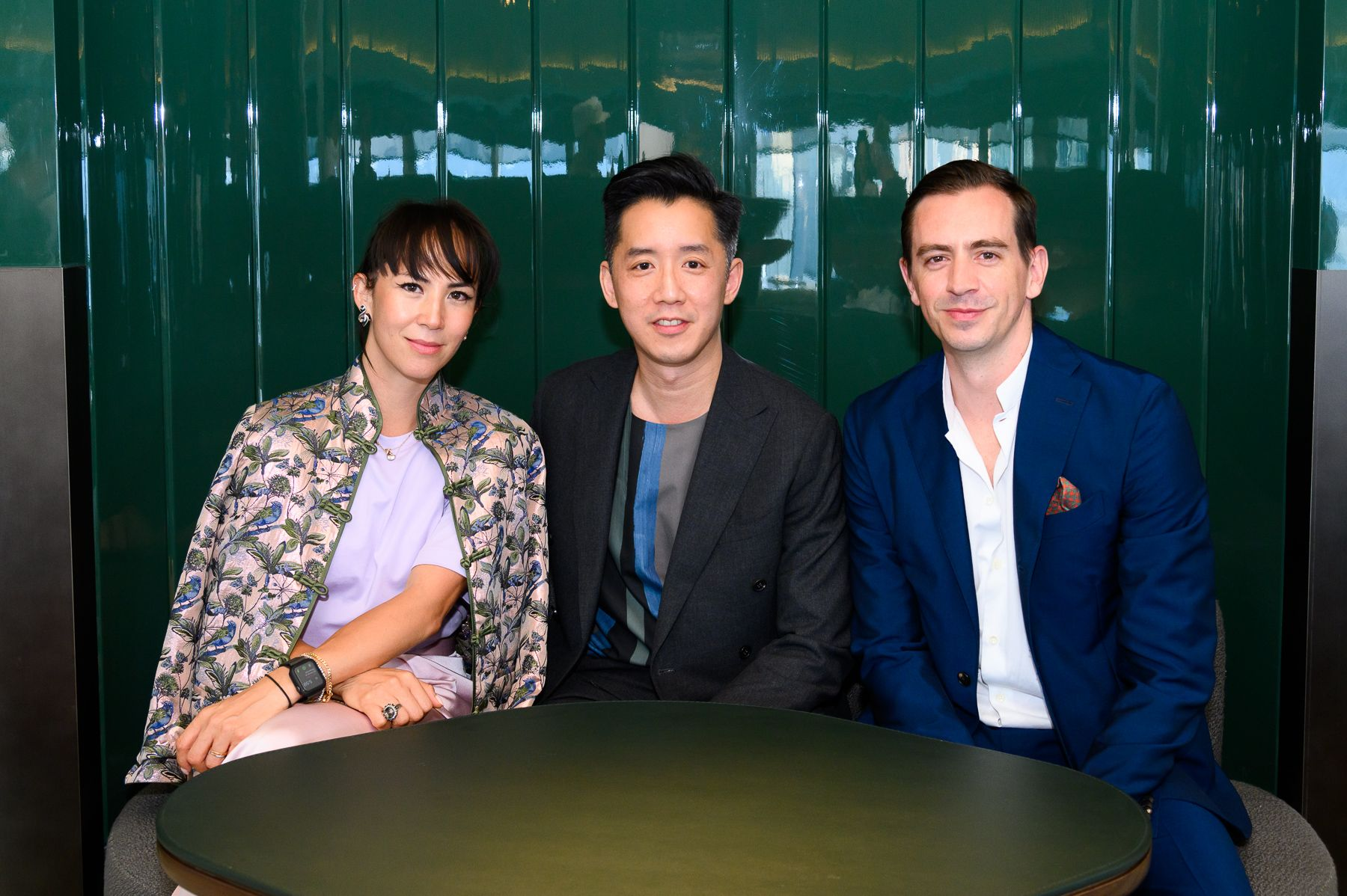 Victoria Tang Owen, André Fu and Christopher Owen