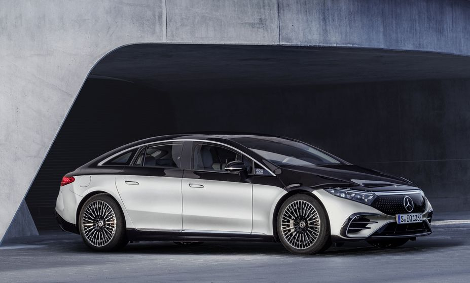 The First Ever All-Electric Mercedes Sedan Has Just Been Released
