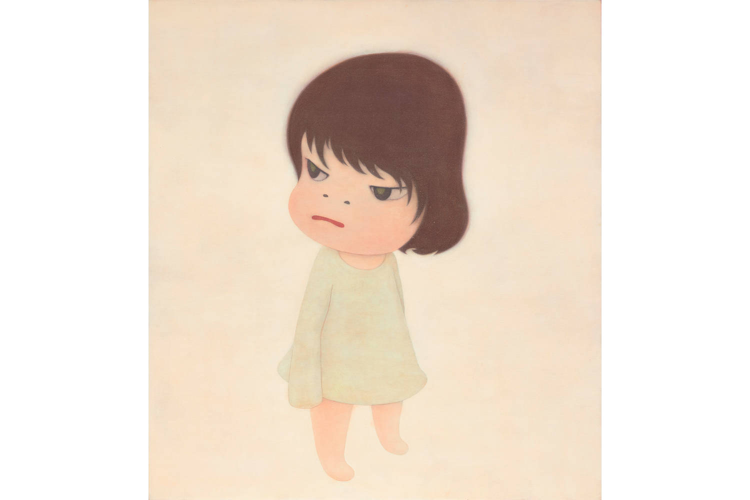 This Rare Yoshitomo Nara's Painting Is Leading The Phillips Auction In June 2021