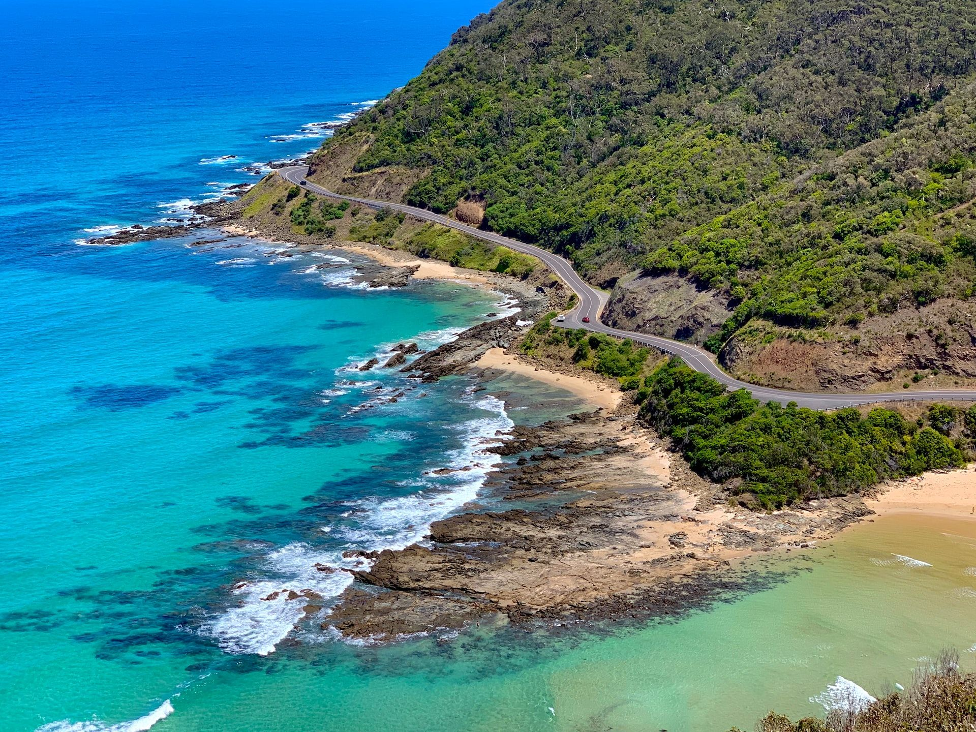 Australia's Great Ocean Road, one of the most Instagrammed road trips