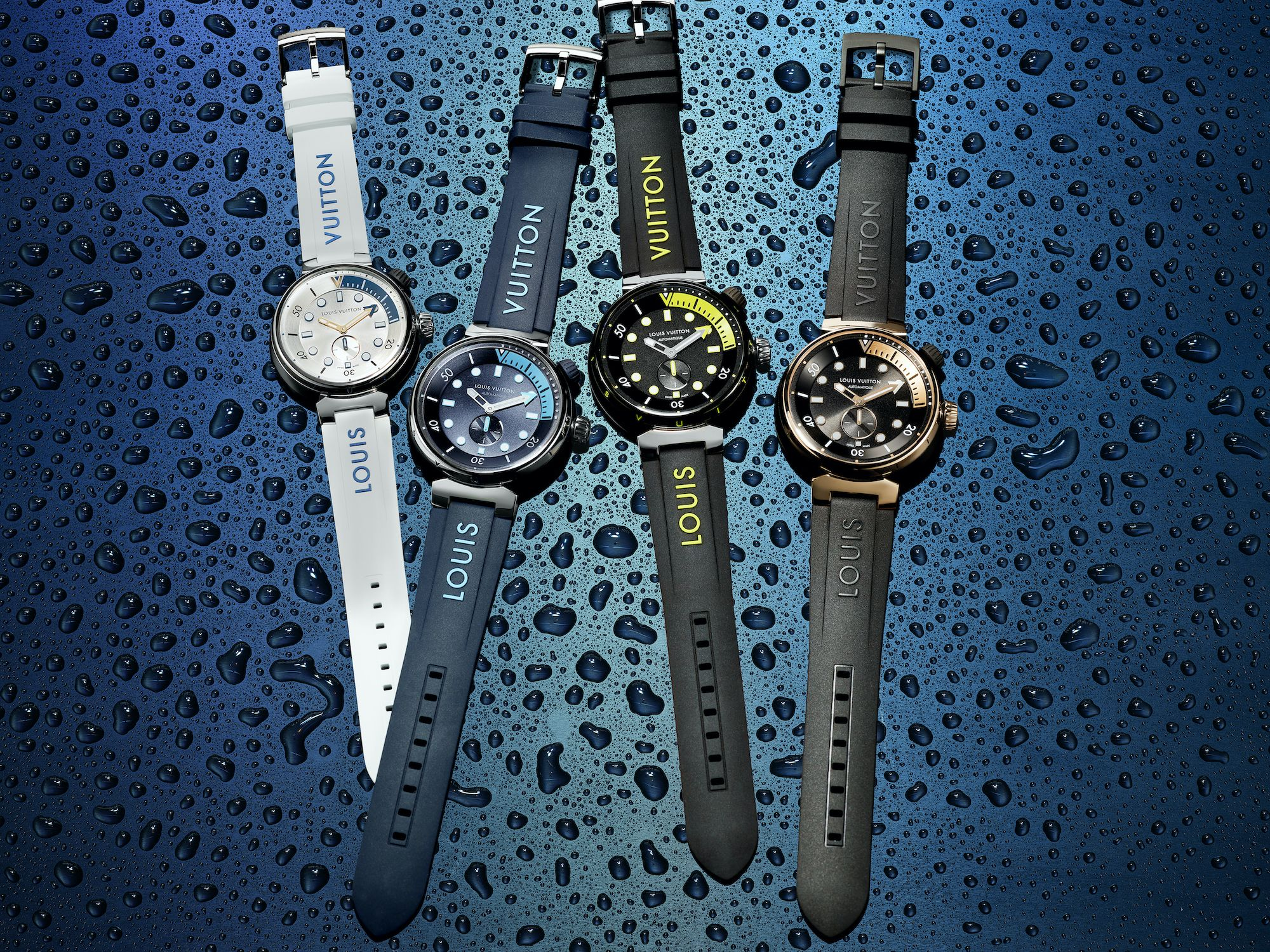 Louis Vuitton's Tambour Street Diver Takes On A Sporty Look