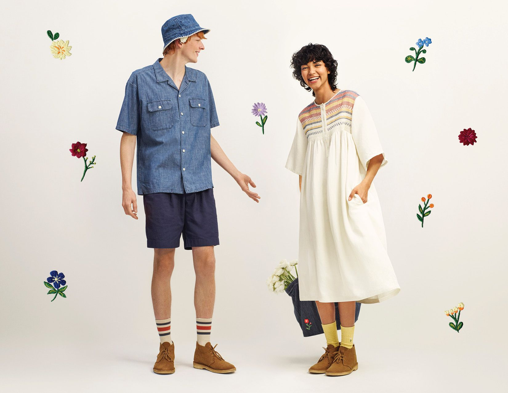 Uniqlo And JW Anderson Reunite For New Spring/Summer 2021 Collection