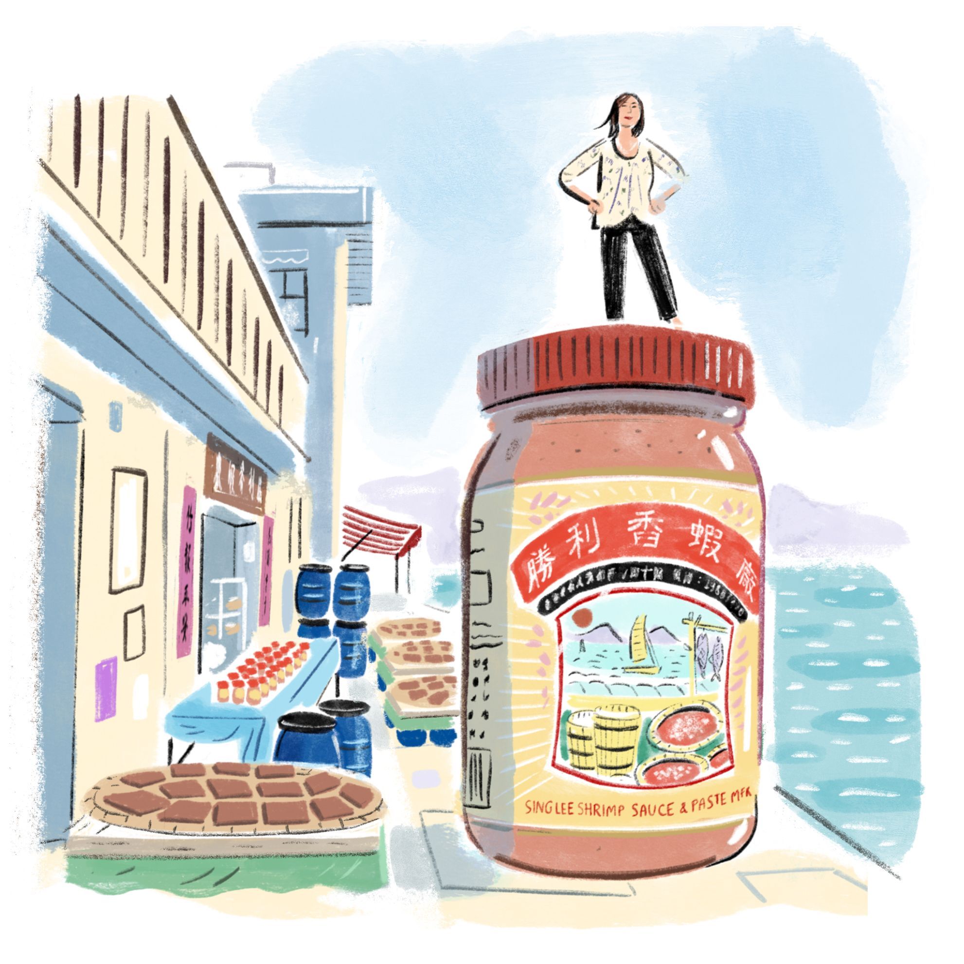 Why Tai O's Shrimp Paste Is The Best Hong Kong Ingredient, According To Gigi Paulina Ng