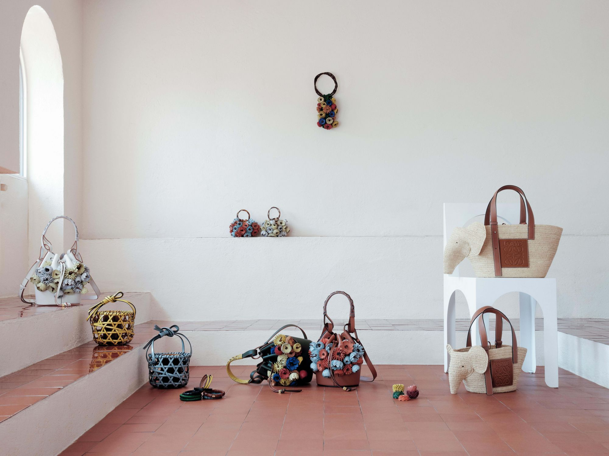 Loewe Partners With Sotheby's To Launch The Weaves Collection
