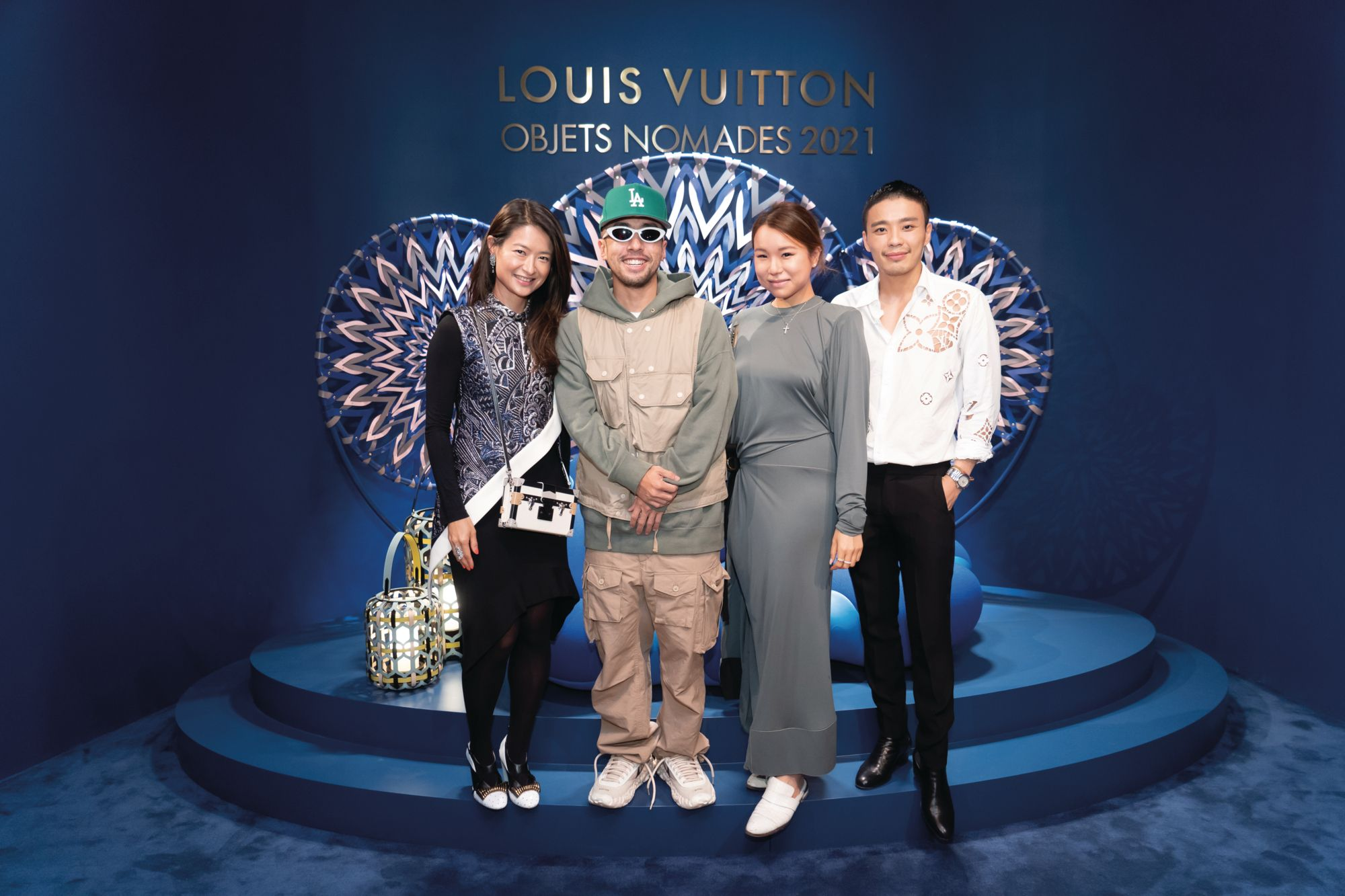 """Louis Vuitton Opens Its Objets Nomades Exhibition """"Momento"""" In Central"""