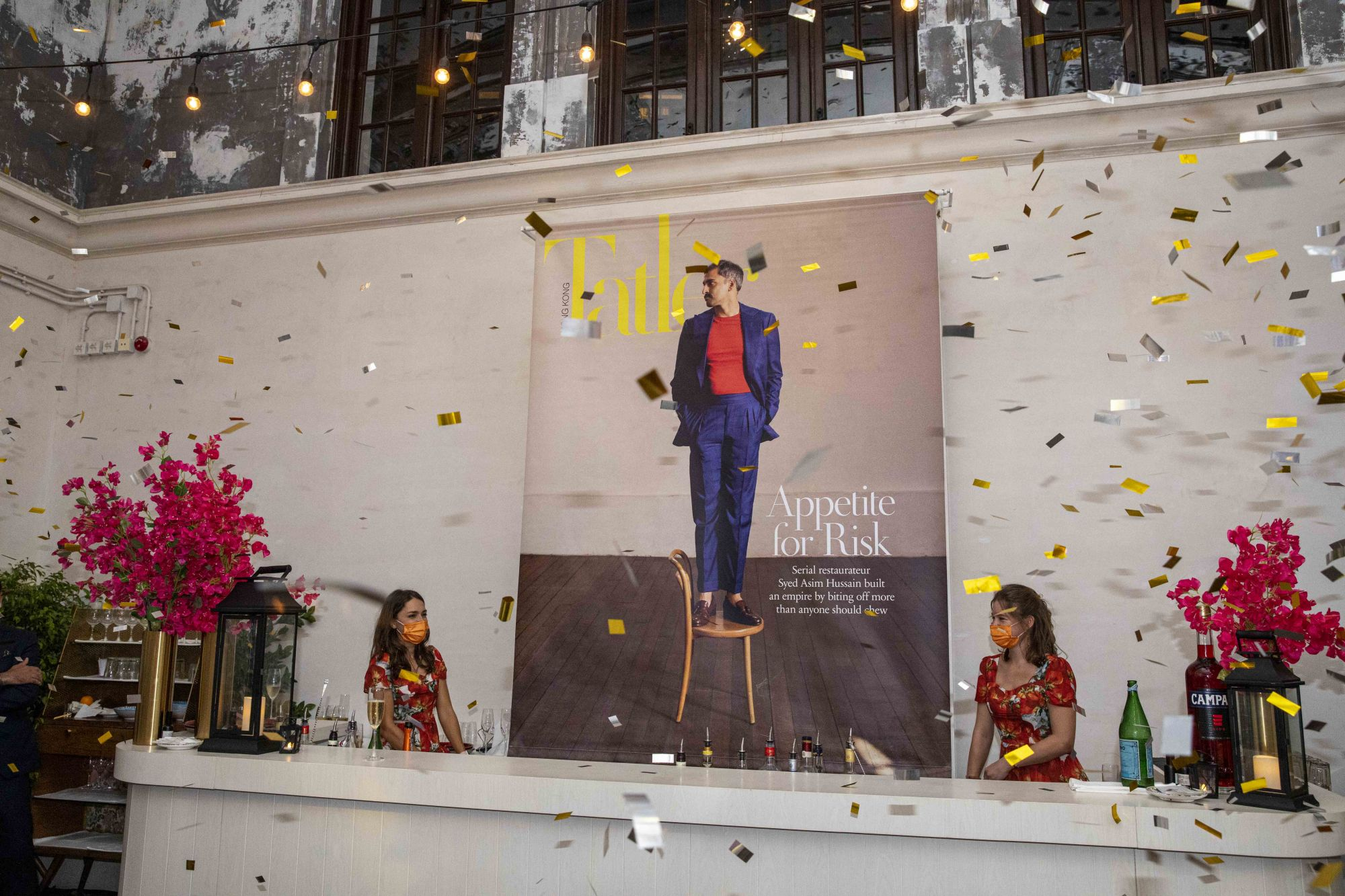 Tatler Celebrates The Cover Reveal Of May 2021 Star Syed Asim Hussain In Tai Kwun