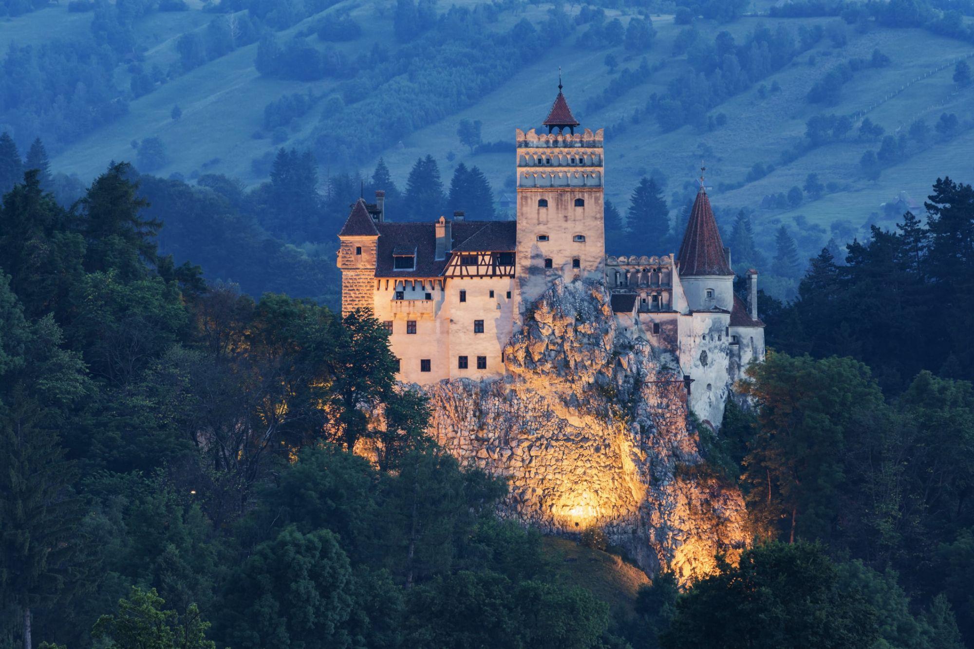 Transylvania's Bran Castle, Romania (Photo: Getty Images)