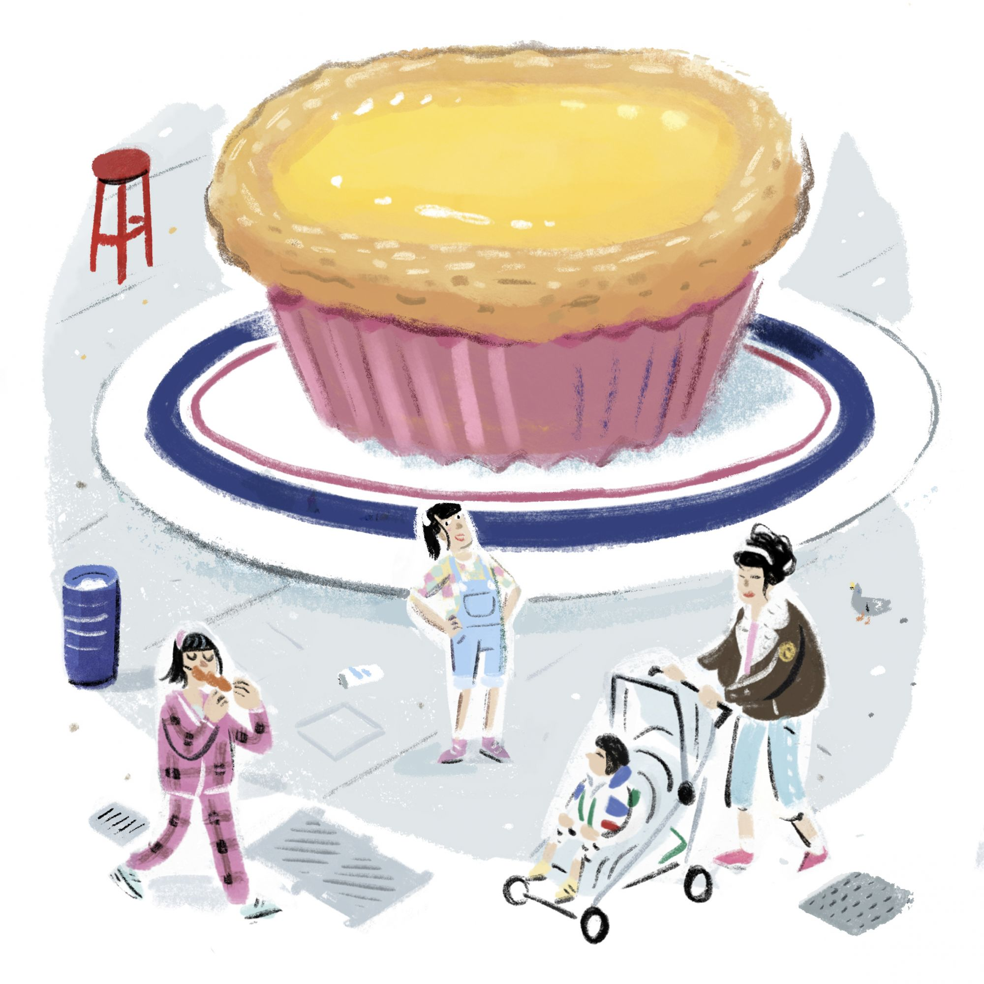 Cookie Vission's Winnie Pang On Her Favourite Egg Tarts In Hong Kong