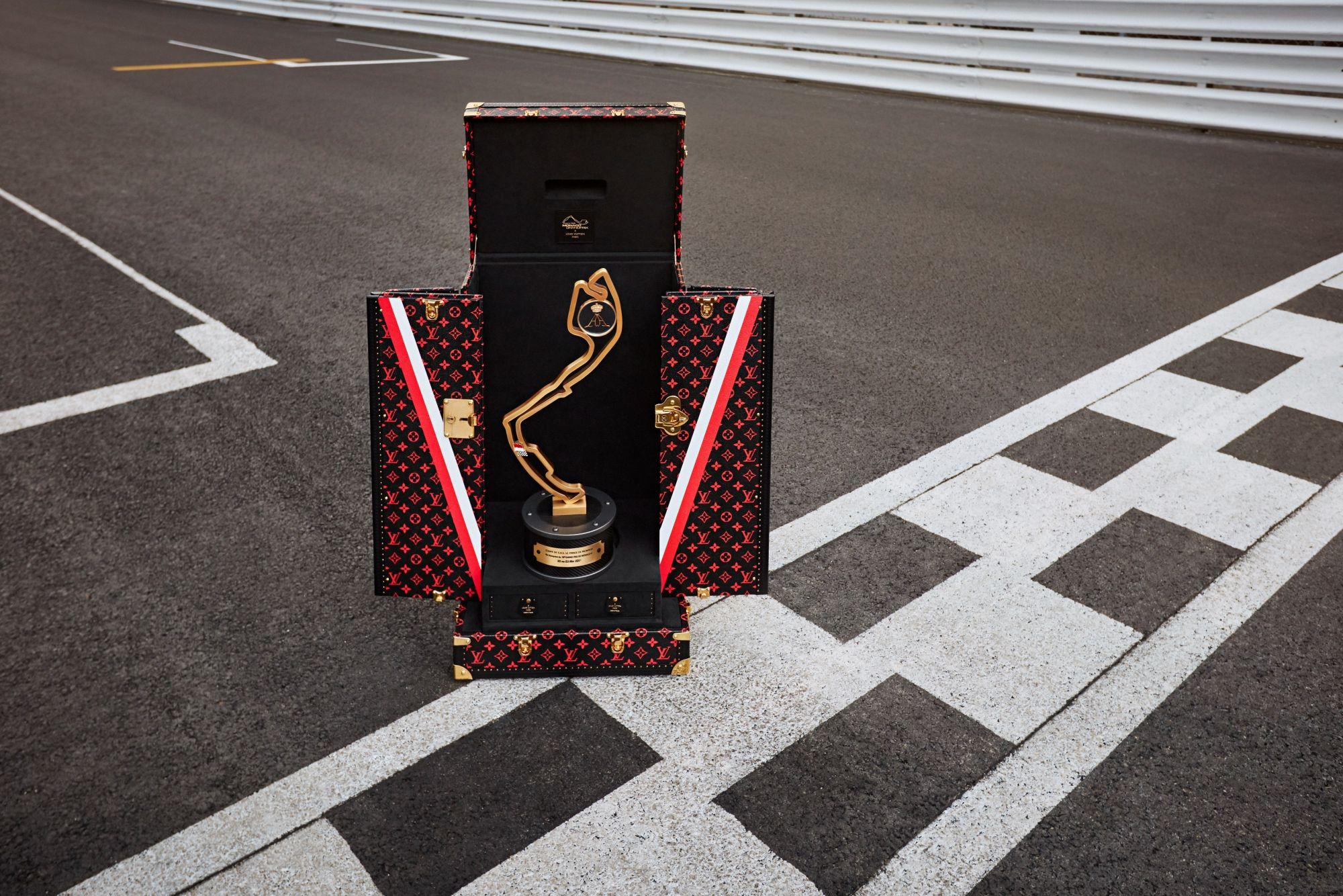 Louis Vuitton Unveils Official Monaco Grand Prix 2021 Trophy Travel Case