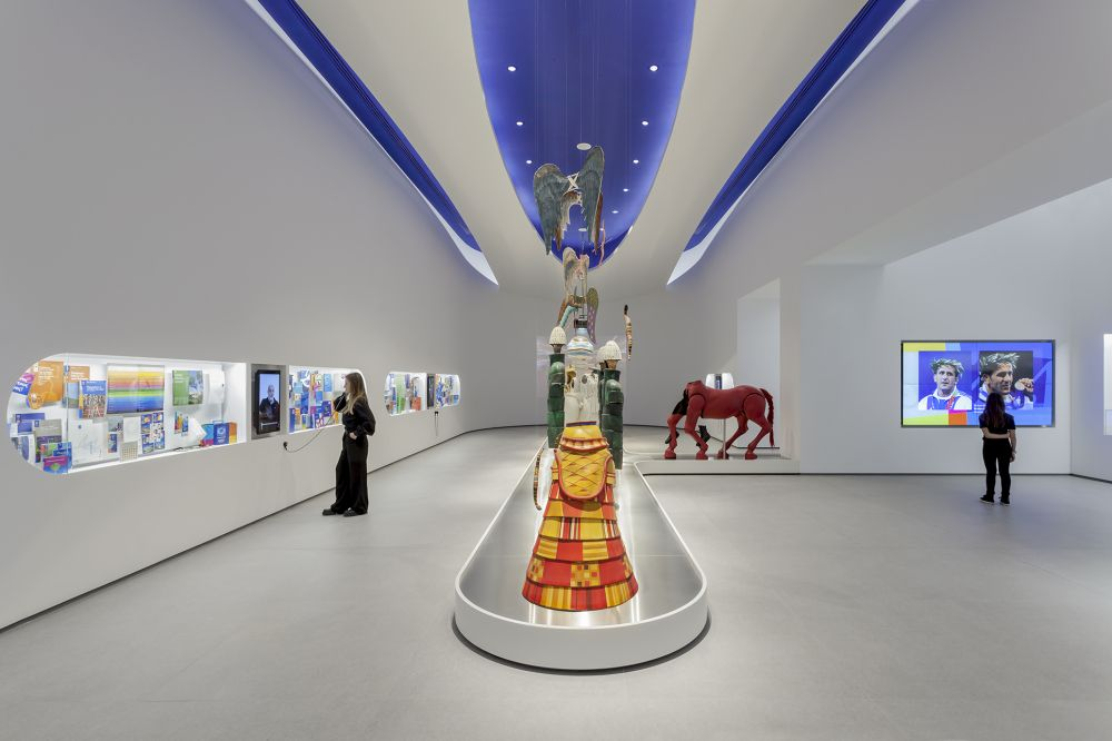 A First Look At The Newly Opened Olympic Museum In Athens
