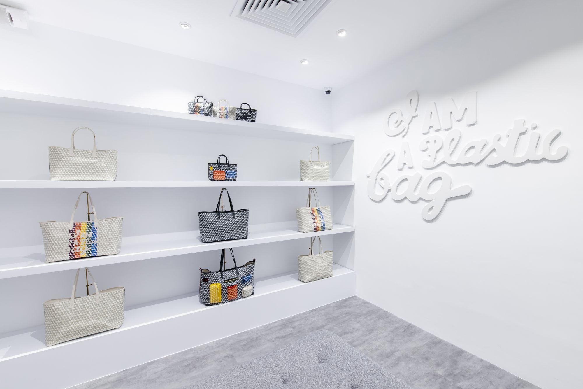 """Anya Hindmarch's """"I Am A Plastic Bag"""" Pop-Up Opens At Landmark Hong Kong"""