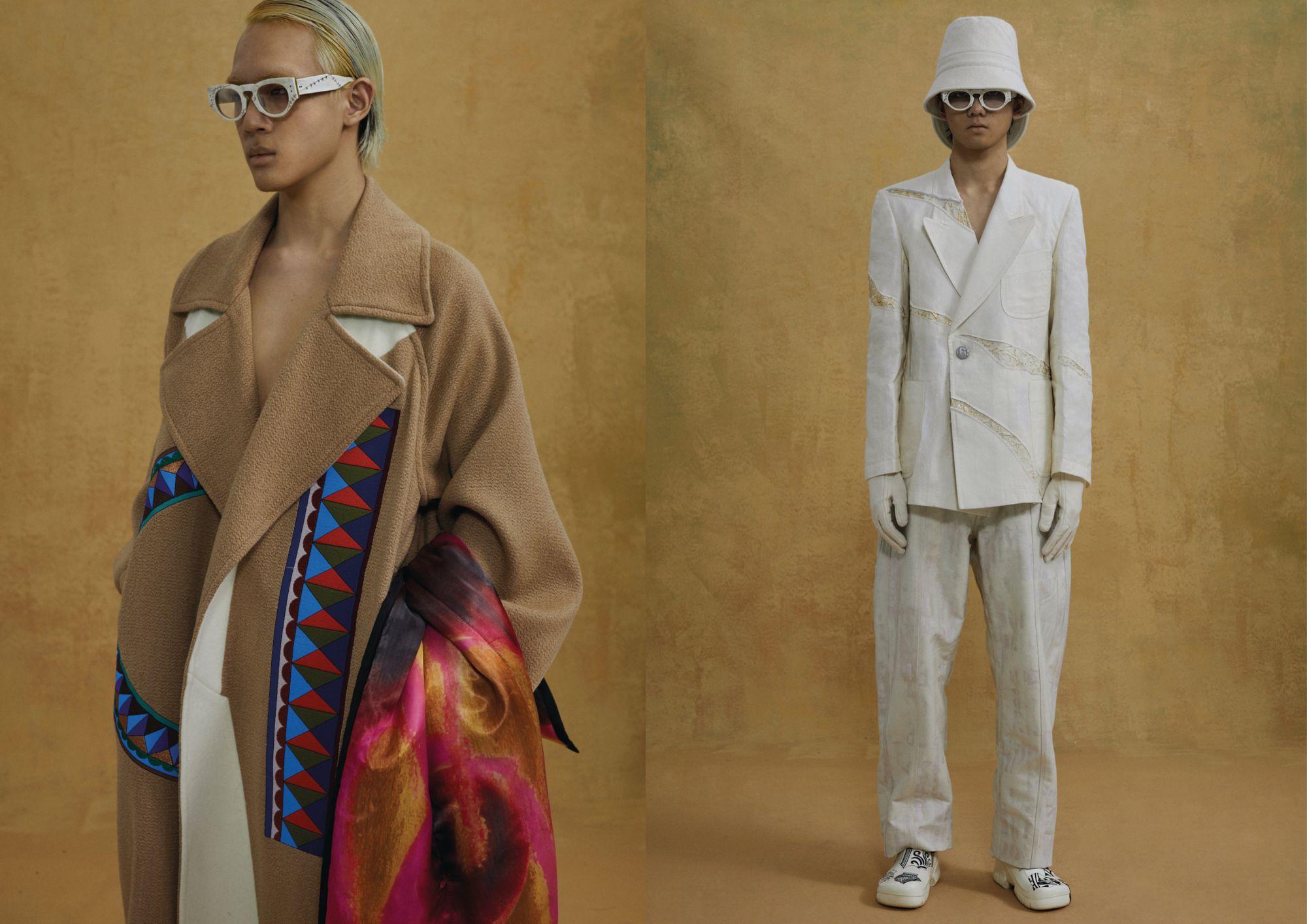 Chinese Designers Yushan Li and Jun Zhou On Their Menswear Label, Pronounce