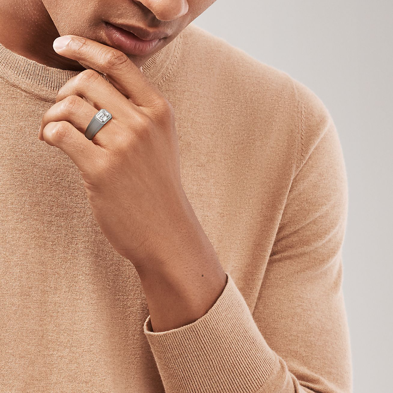 Tiffany & Co. Launches An Engagement Ring For Men