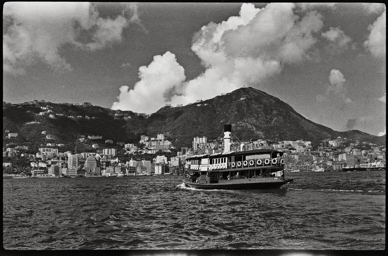The Star Ferry in Victoria Harbour, Hong Kong in 1958 (Photo: Lee Fook Chee, © The Estate of Lee Fook Chee. Courtesy of Sino Group)