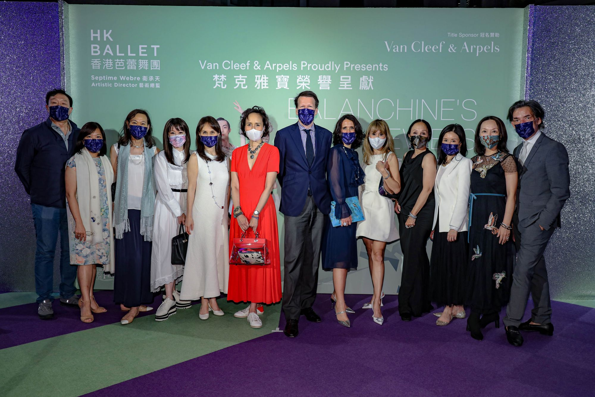 From left: Arthur Minshiang Wang, Heidi Lee, Evonne Tsui, Janice Chan-Choy, Daisy Ho, Victoria Lam, Nicolas Luchsinger, Julie Becker, Mira Yeh, Lindzay Chan, Liana Yung Yeung, Linda Fung and Septime Webre