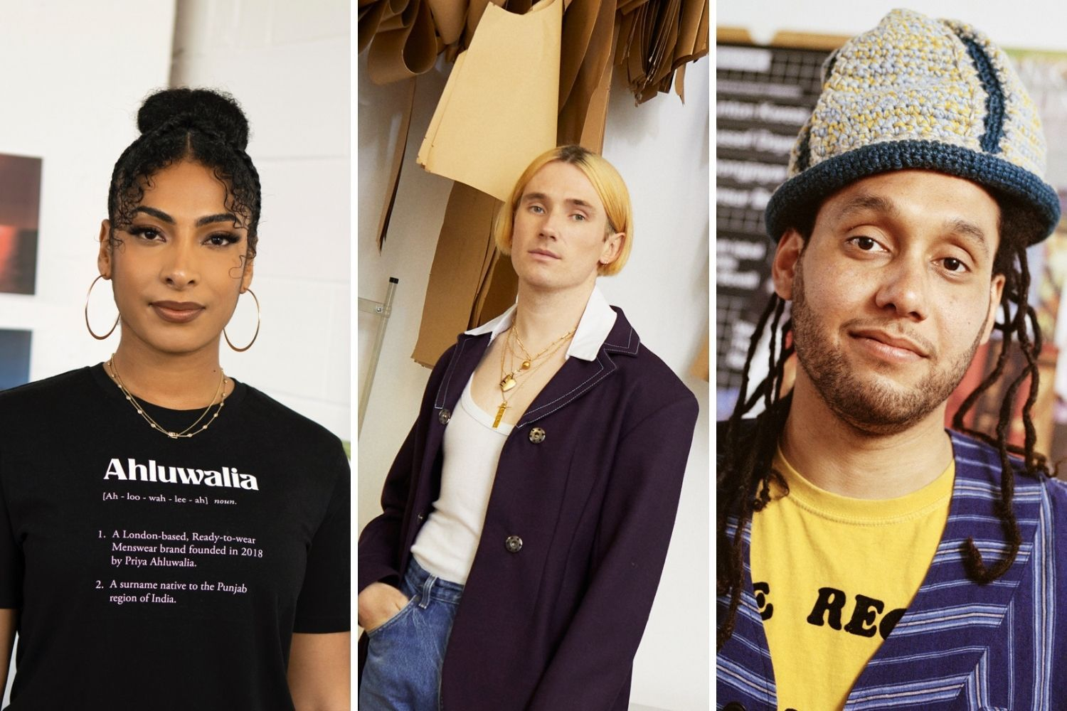 Mulberry collaborates with designers Priya Ahluwalia, Richard Malone and Nicholas Daley for 50th anniversary celebrations