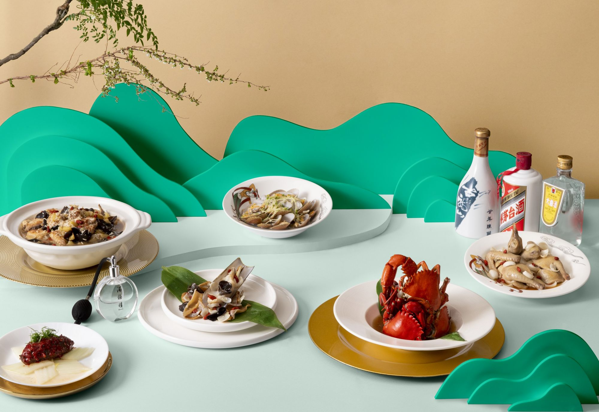 Discover The Symphony Of Chinese Wine Infused Gastronomy At Dynasty