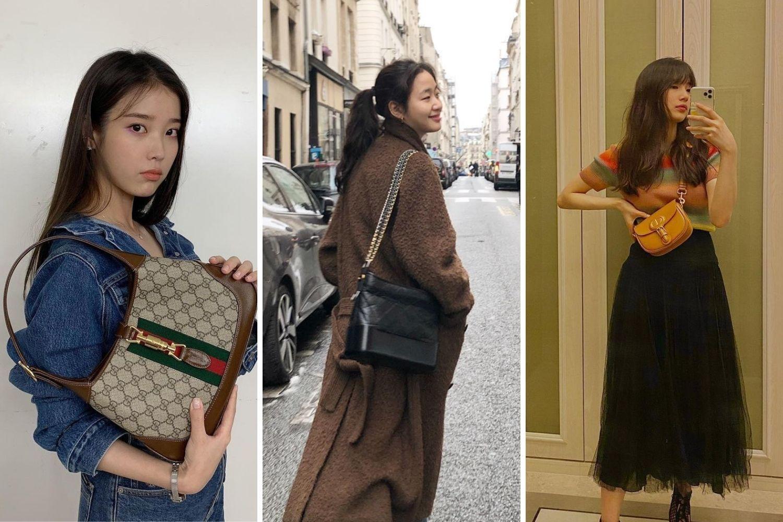 These Korean celebrities love these designer bags