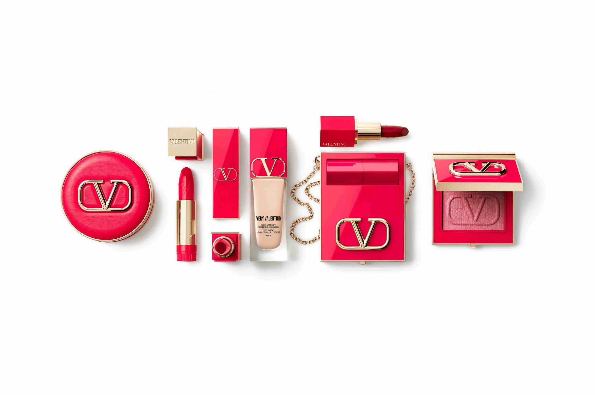 A Valentino make-up line is coming this August 2021
