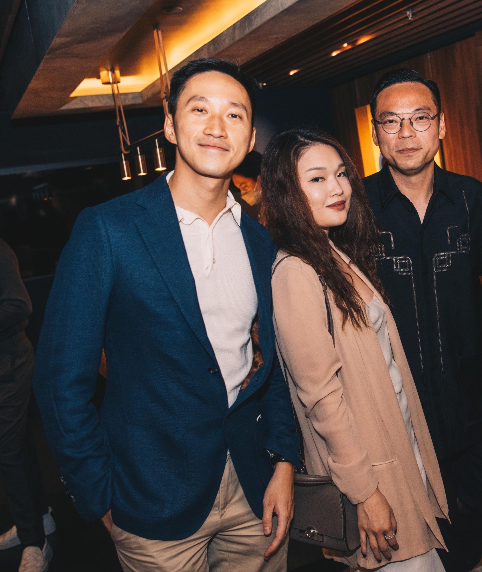 Evan Chow, Queenie Rosita Law and Alan Lo