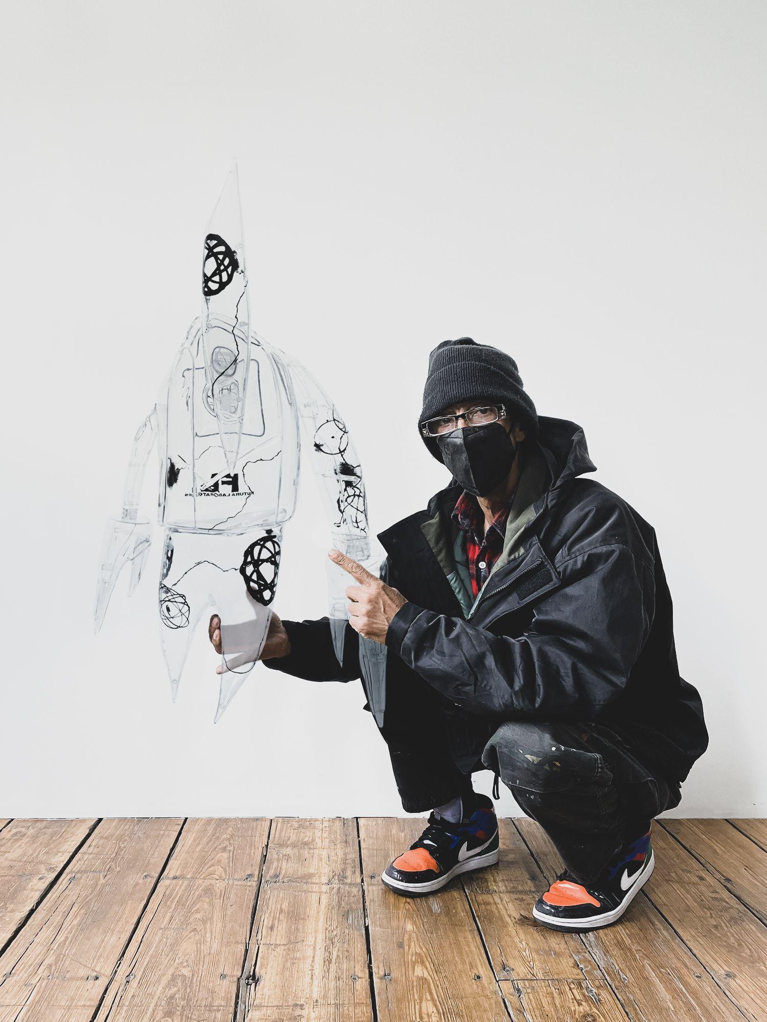 AllRightsReserved Teams Up With Graffiti Artist Futura To Host An Exhibition At Landmark Atrium
