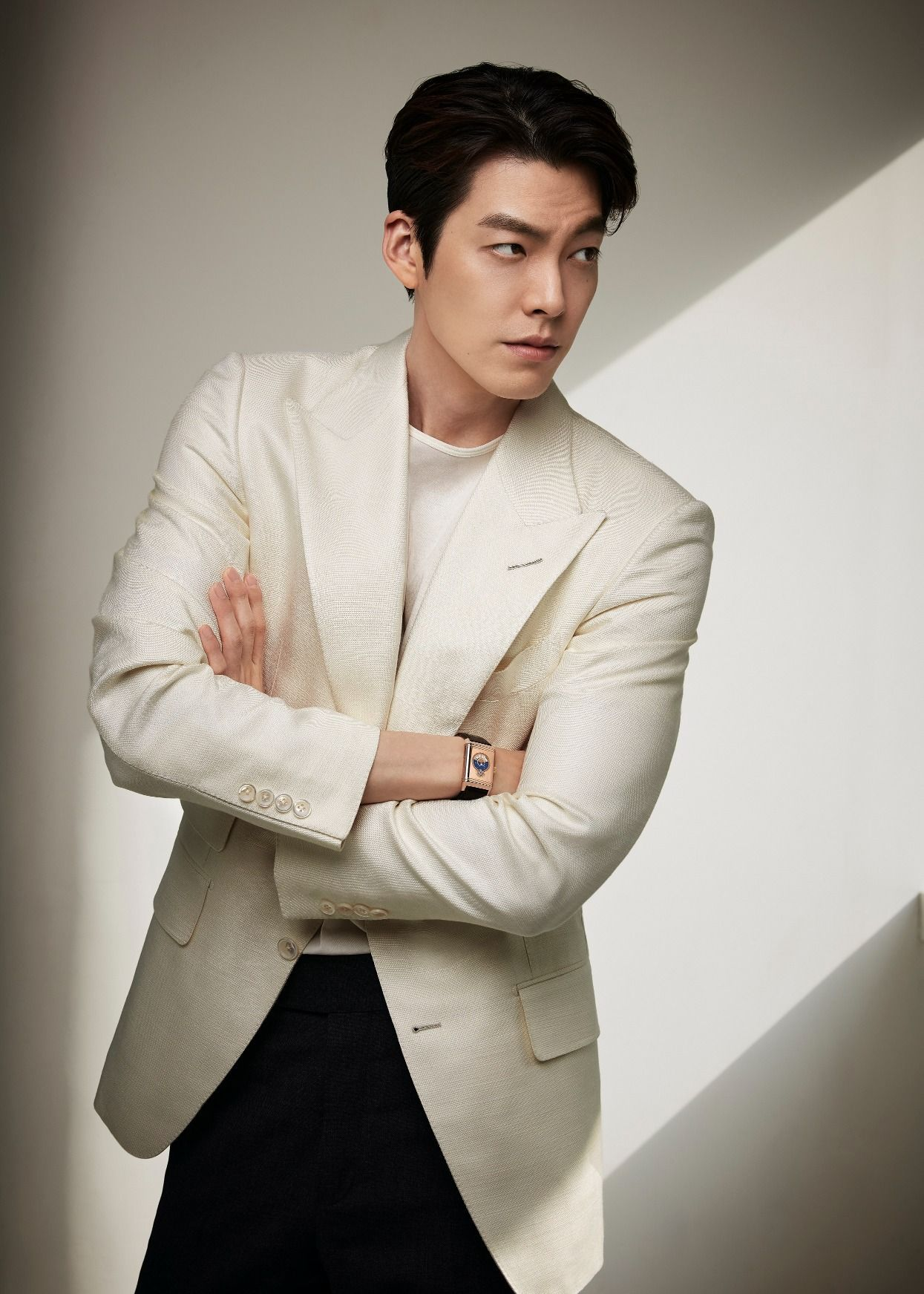 The Luxury Watch Kim Woo-Bin Is Wearing As Jaeger-LeCoultre's New Brand Ambassador