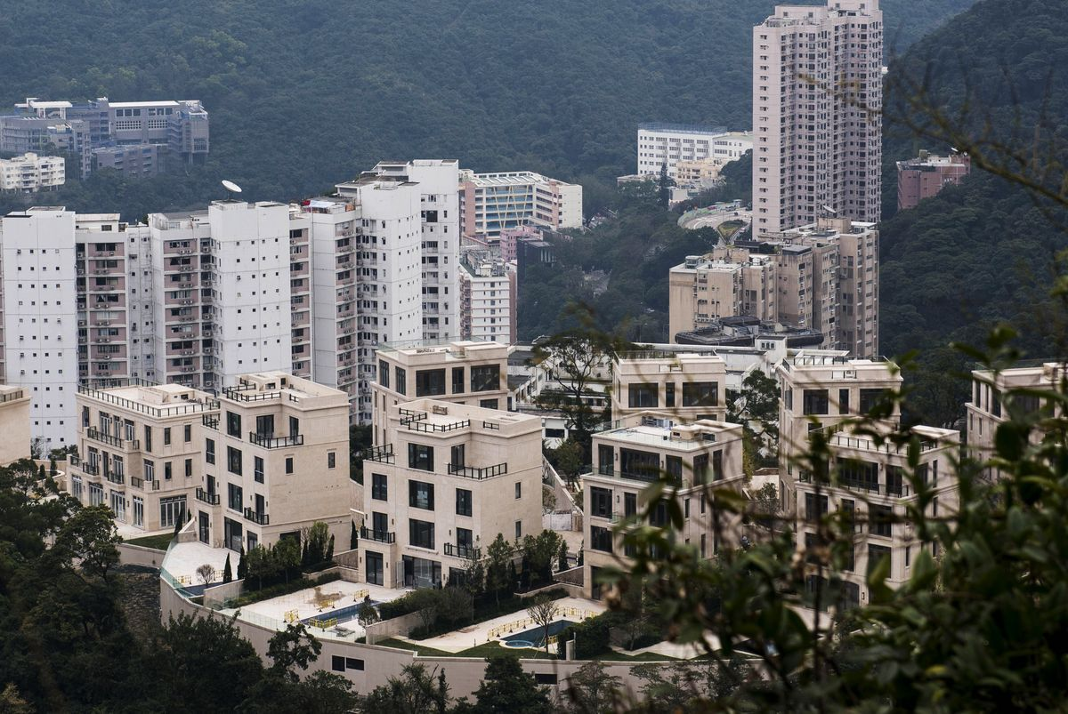 A parking spot in Hong Kong luxury property Mount Nicholson, has recently sold for record-breaking US$1.3 million, making it the most expensive parking space in the world (Photo: South China Morning Post/Getty Images)