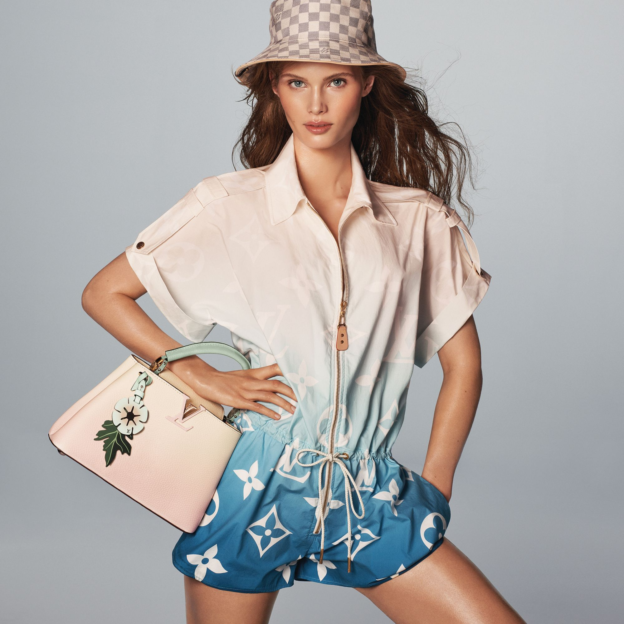 Sun, Sand, Style: The ultimate beach checklist should include at least one of these summery staples. Louis Vuitton Capucines bag Loewe and basket bag