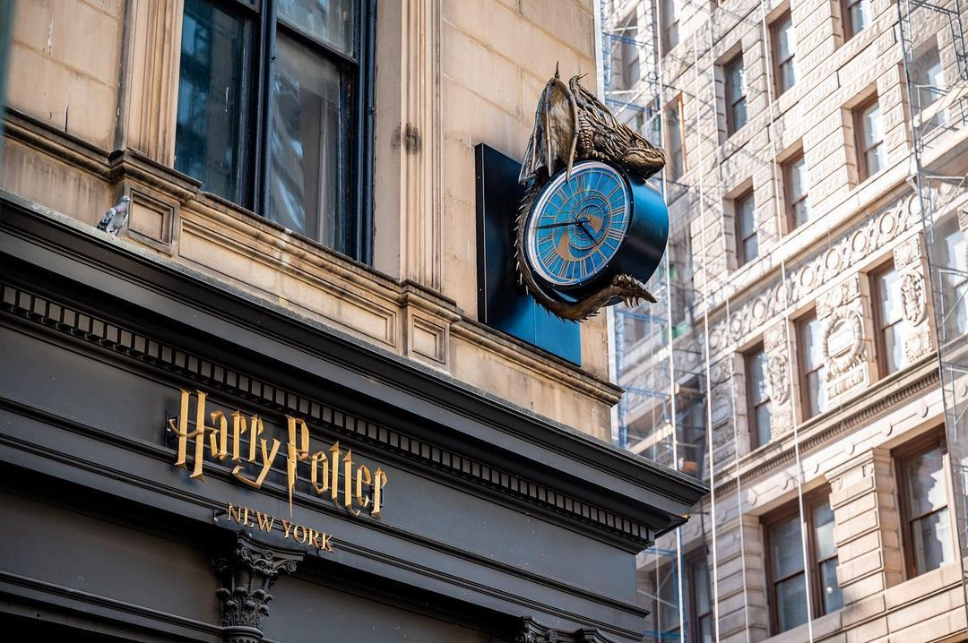 The world's largest Harry Potter store opens in New York