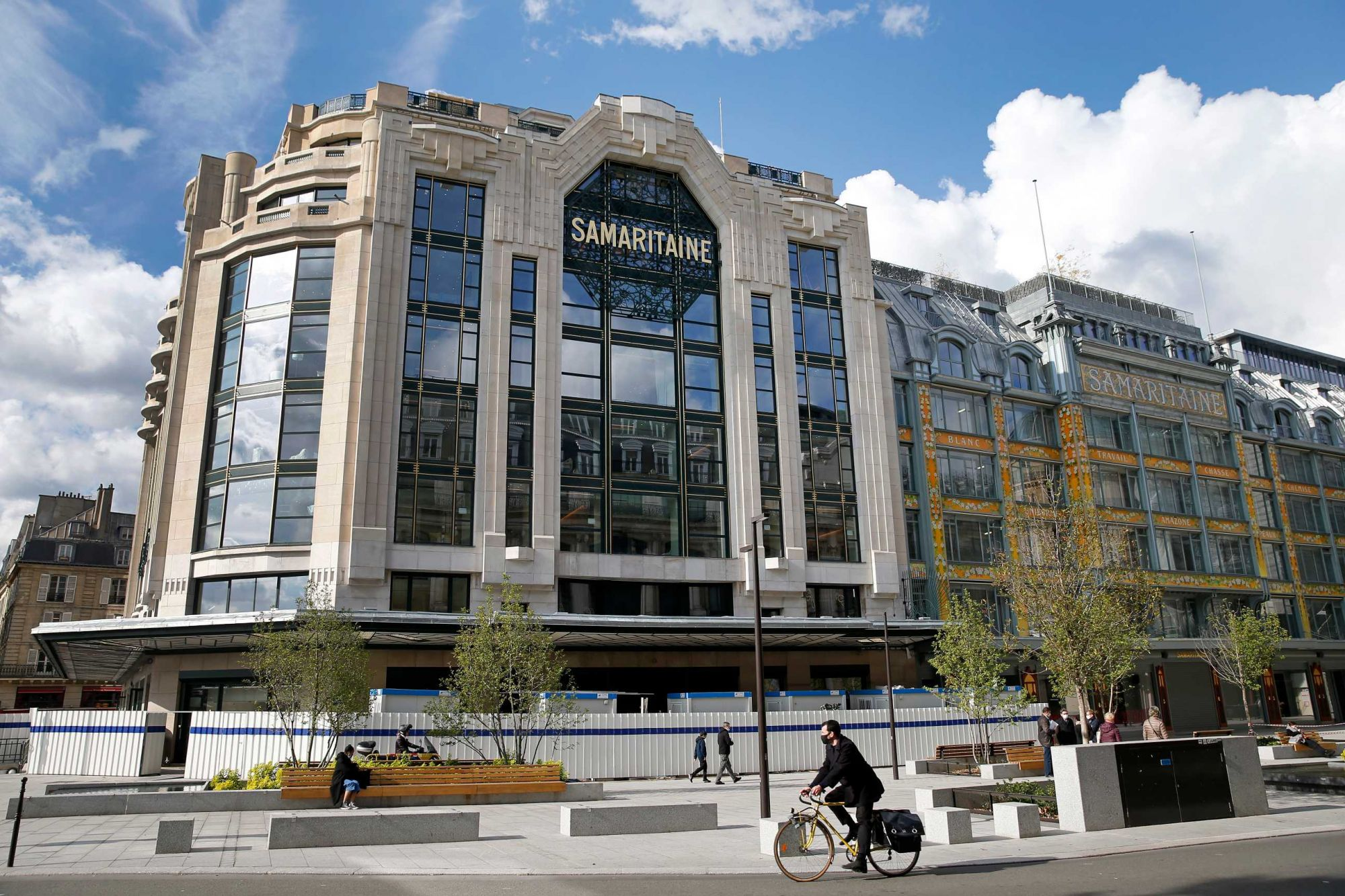 Luxury Department Store La Samaritaine Re-Opens In Paris After 16 Years