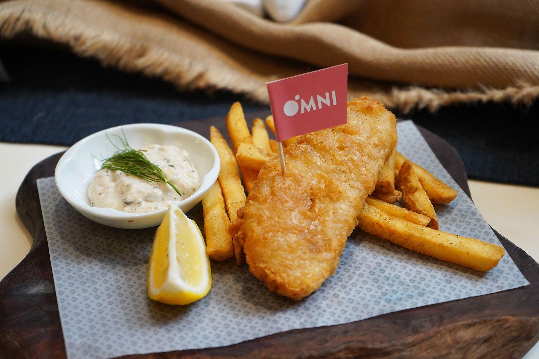 OmniFoods Presents Plant-Based Seafood Next