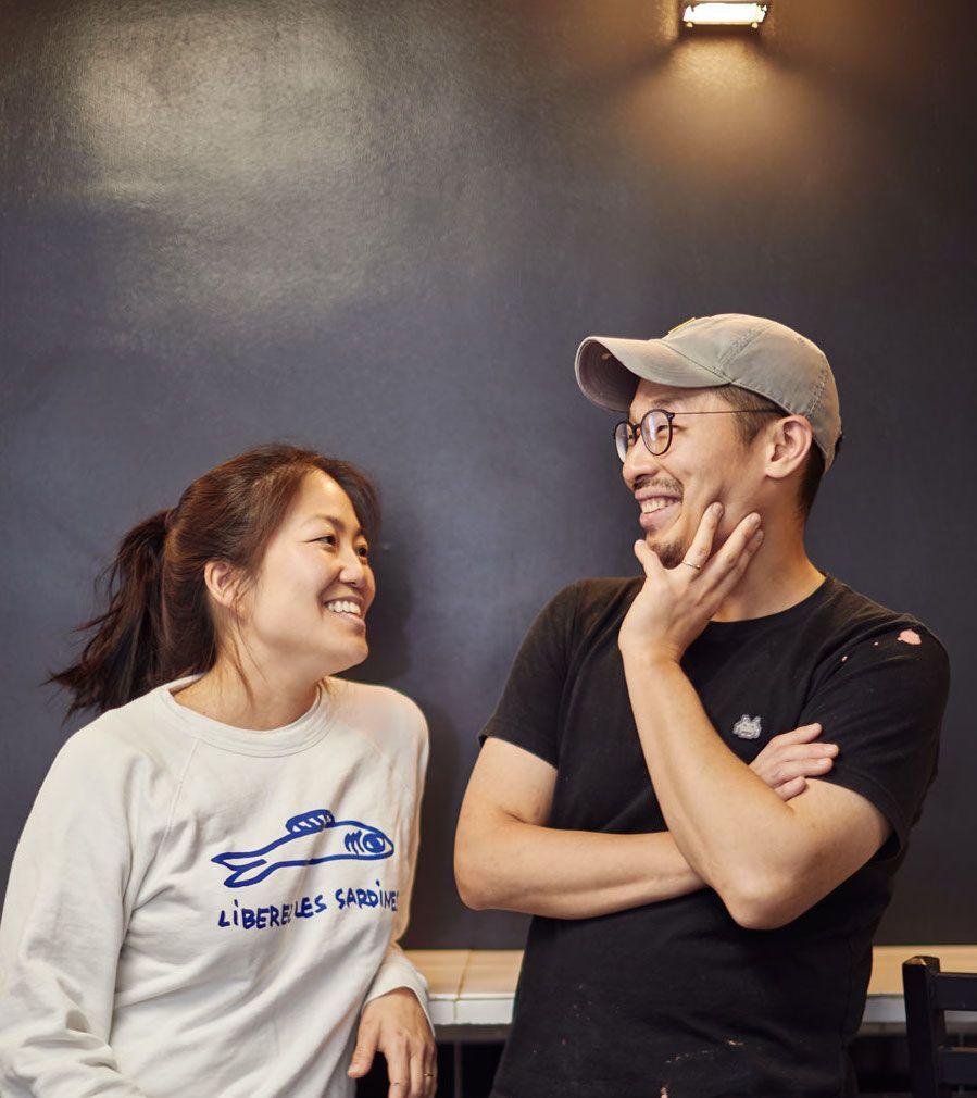 Mina Park and husband Kwang Uh of Shiku (Photo: Jeff Newton)