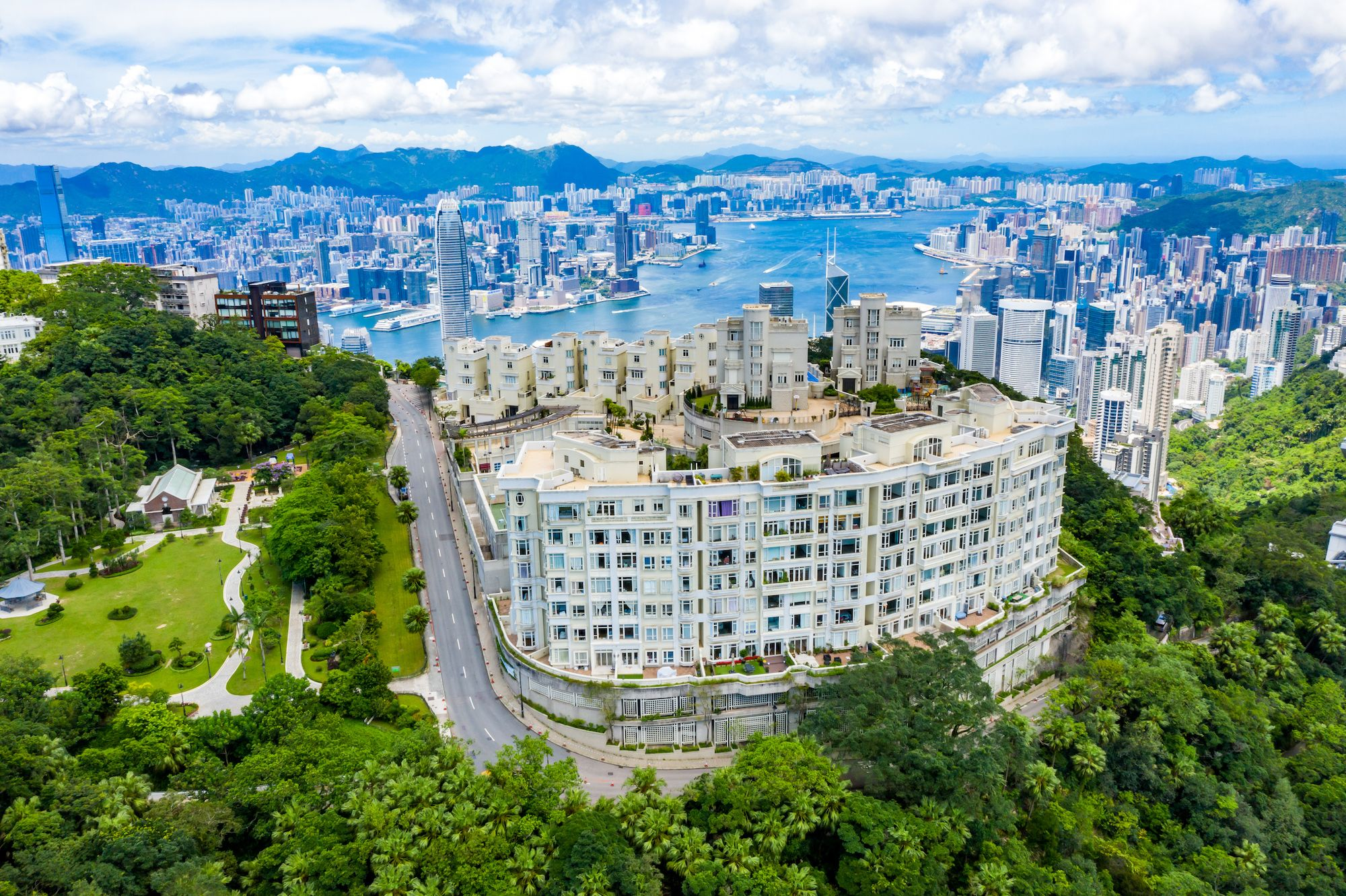 Asia's Most Exclusive Residential Streets